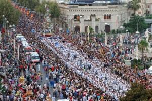 La Vara di Messina, processione di Ferragosto
