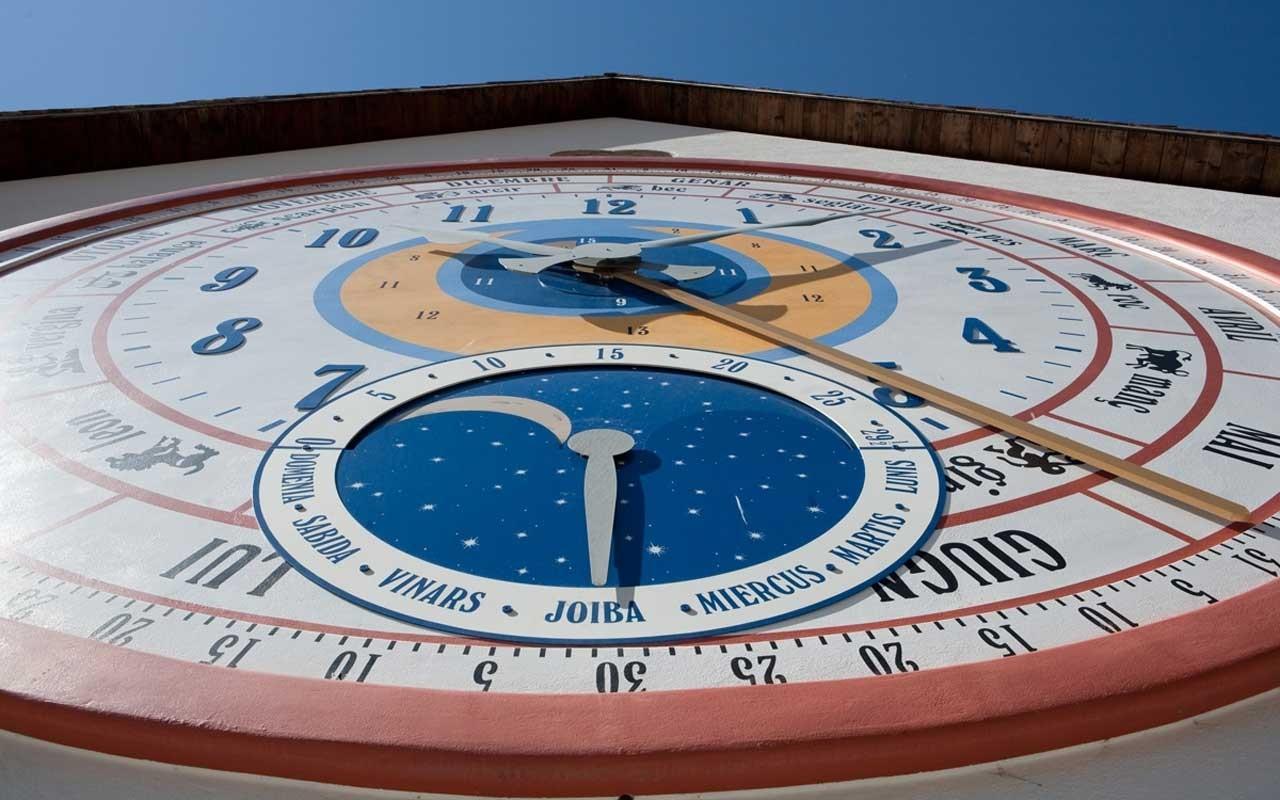 Orologio a Pesariis